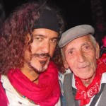 Zi Riccardo con Michele Mangano