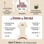 """""""La Disfida del Baccalà"""", questa volta Napoli-Roma si gioca a tavola"""