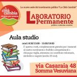 Somma Vesuviana, La Città Cambia inaugura un'aula studio nella nuova sede